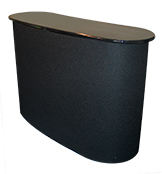 table with velcro compatible fabric